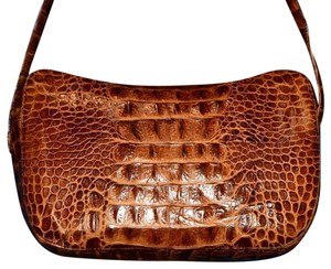 Desmo Great For Everyday Excellent Vintage Quality Italian Classic Croc Print Vintage Purse Hobo Bag