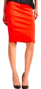 Marciano Stretch Slit Skirt orange