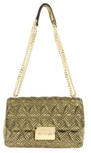 MICHAEL Michael Kors Quilted Metallic Shoulder Bag