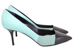 Diego Dolcini Turquoise Pumps