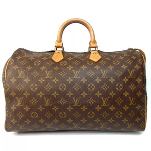 Louis Vuitton Boston Monogram Speedy Speedy 40 Speedy 35 Lv Speedy Satchel in Brown