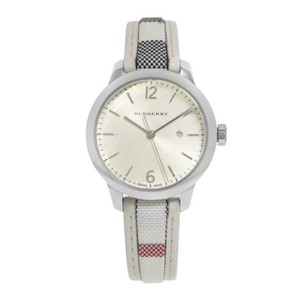Burberry WOMENS CHECK STRAP WATCH 32MM