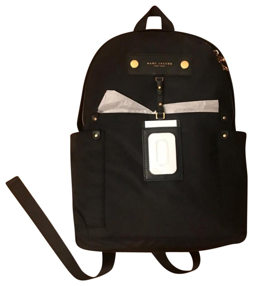 7cc7745d03 Marc Jacobs Black Nylon Backpack - Tradesy