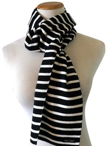 Saint James Wool Striped Scarf