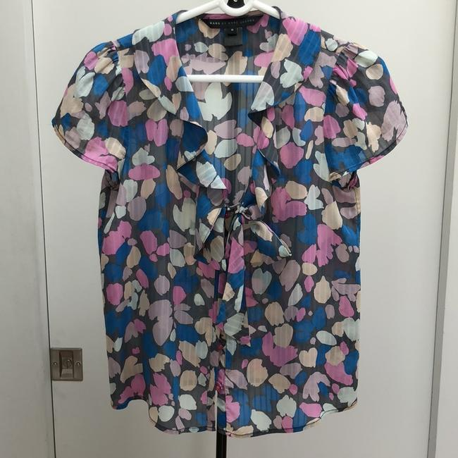 Marc by Marc Jacobs Button Down Shirt Pastel pink, nude, blue, light grey and dark grey Image 11
