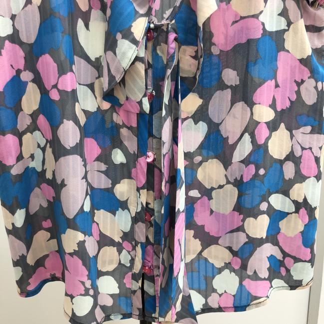 Marc by Marc Jacobs Button Down Shirt Pastel pink, nude, blue, light grey and dark grey Image 5