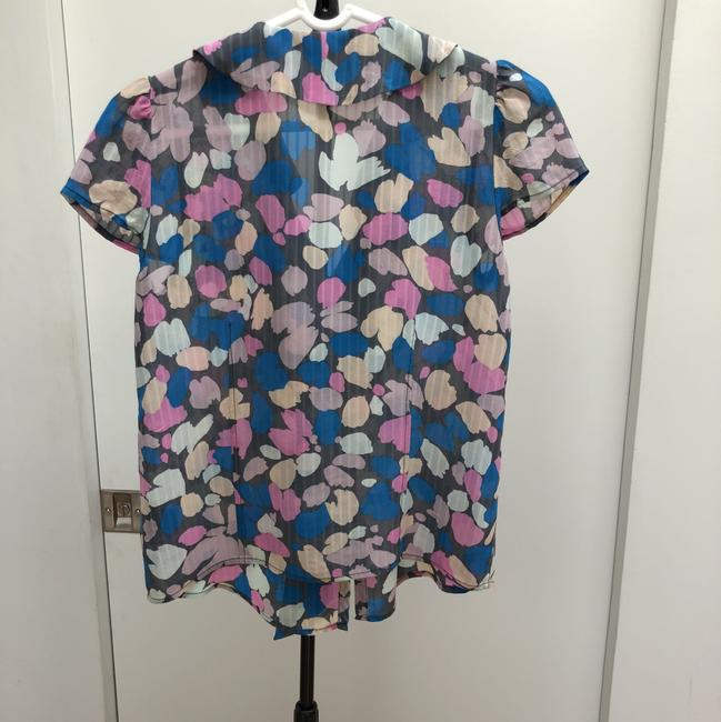 Marc by Marc Jacobs Button Down Shirt Pastel pink, nude, blue, light grey and dark grey Image 6