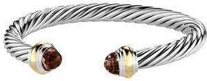David Yurman David Yurman 7mm Cable Classics Bracelet in Smoky Quartz