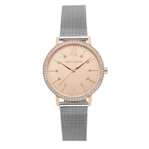 Vince Camuto Vince Camuto mess Strap Watch, 27mm