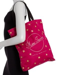 Marc Jacobs Dual Top Handles Open Top No Inner Pockets / Shopper Tote in PInk