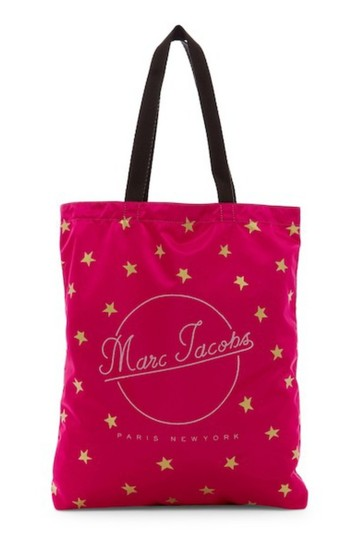 Marc Jacobs Dual Top Handles Open Top No Inner Pockets / Shopper Tote in PInk Image 1