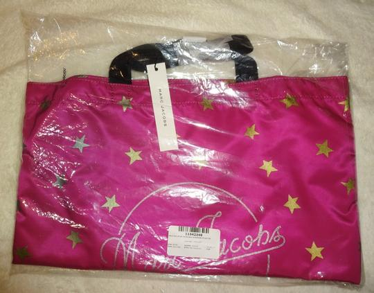 Marc Jacobs Dual Top Handles Open Top No Inner Pockets / Shopper Tote in PInk Image 10
