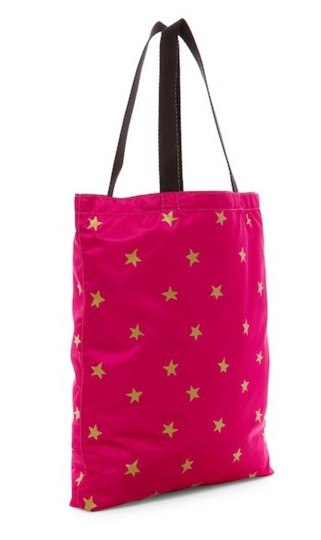 Marc Jacobs Dual Top Handles Open Top No Inner Pockets / Shopper Tote in PInk Image 3