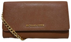Michael Kors Black Leather Cross Body Bag