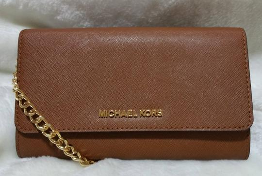 Michael Kors Black Leather Cross Body Bag Image 11