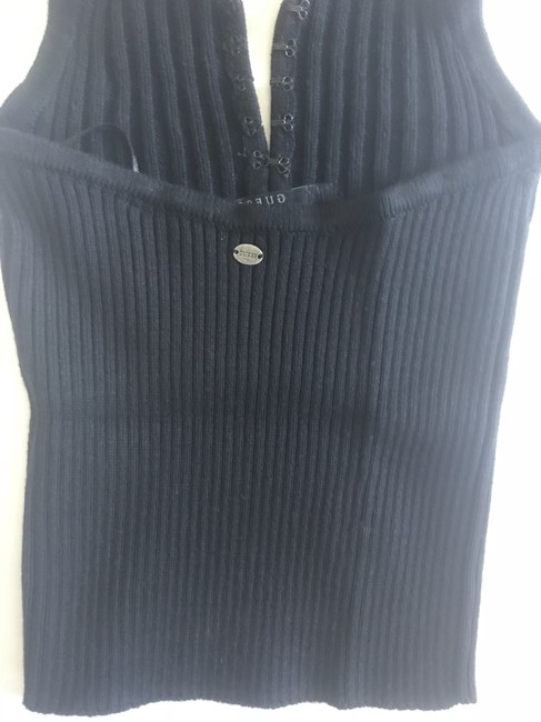Guess By Marciano black Halter Top Image 2