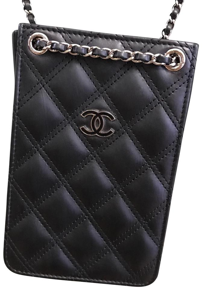 5cadf16d94c7ac Chanel Iphone Cellphone Android Phone Iphone Quilted Phone Cross Body Bag  Image 0 ...