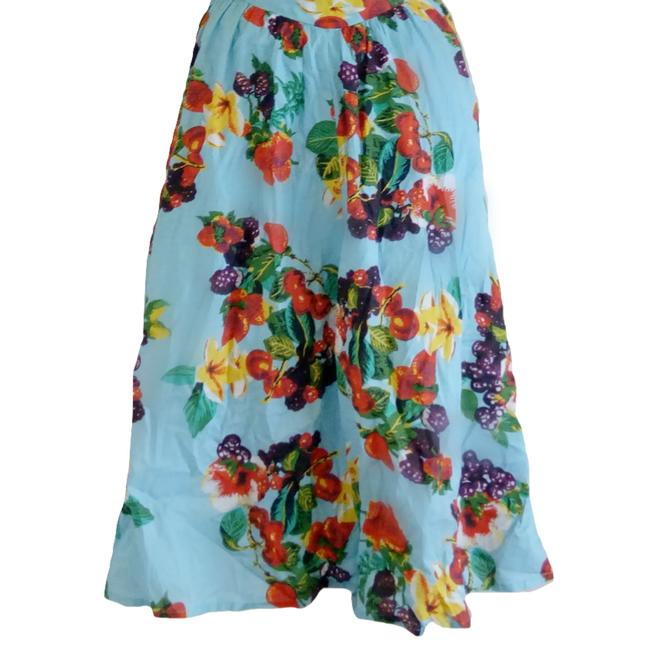 Joe Browns short dress Blue Floral Sweetheart Tropical Fruit Flowers on Tradesy Image 2
