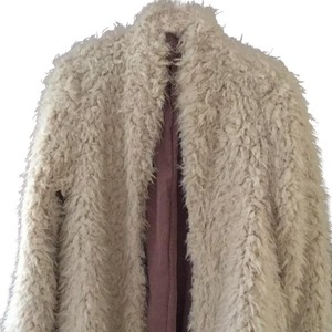 Free People Swing Fuzzy Fur Coat