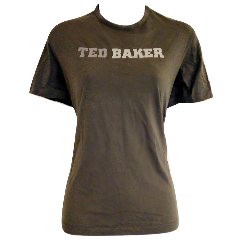 c7bedc448 Ted Baker Green Army Military Inspired Tee Shirt Size 8 (M) - Tradesy