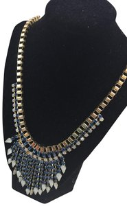 Neiman Marcus Neiman Marcus gold and blue necklace