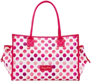 Dooney & Bourke Tote in Pink White
