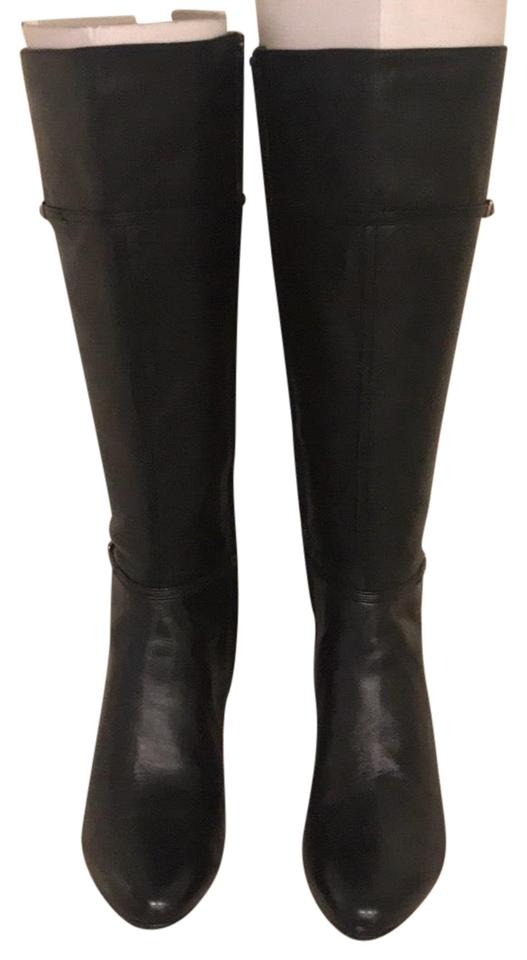 LADY Haan Cole Haan LADY Black Tall Boots/Booties trendy b52529