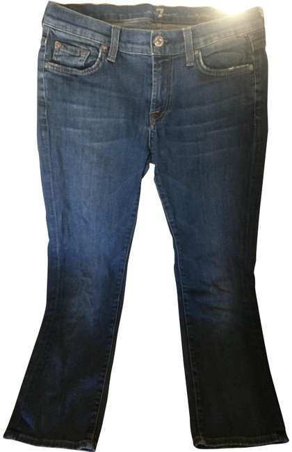 Preload https://img-static.tradesy.com/item/23058737/7-for-all-mankind-blue-medium-wash-flare-crop-capricropped-jeans-size-28-4-s-0-2-650-650.jpg