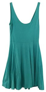 Sparkle & Fade short dress turquoise on Tradesy