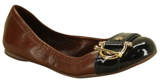 Tory Burch Noel Gold Browns Flats