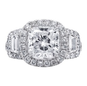 Incredibly 4.72 Tcw Diamond Gia Certified. Engagement Ring