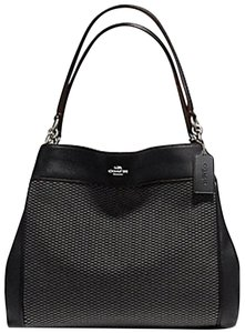 Coach Lexy Legacy Jacquard Edie Shoulder Bag
