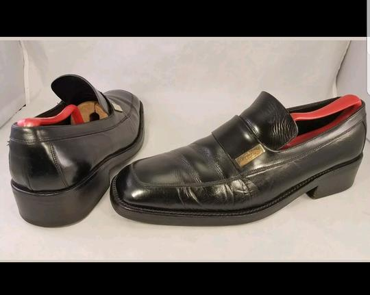 Gucci Black Man Loafers Size 8.5 Fits As Us 9.5 Shoes Image 3