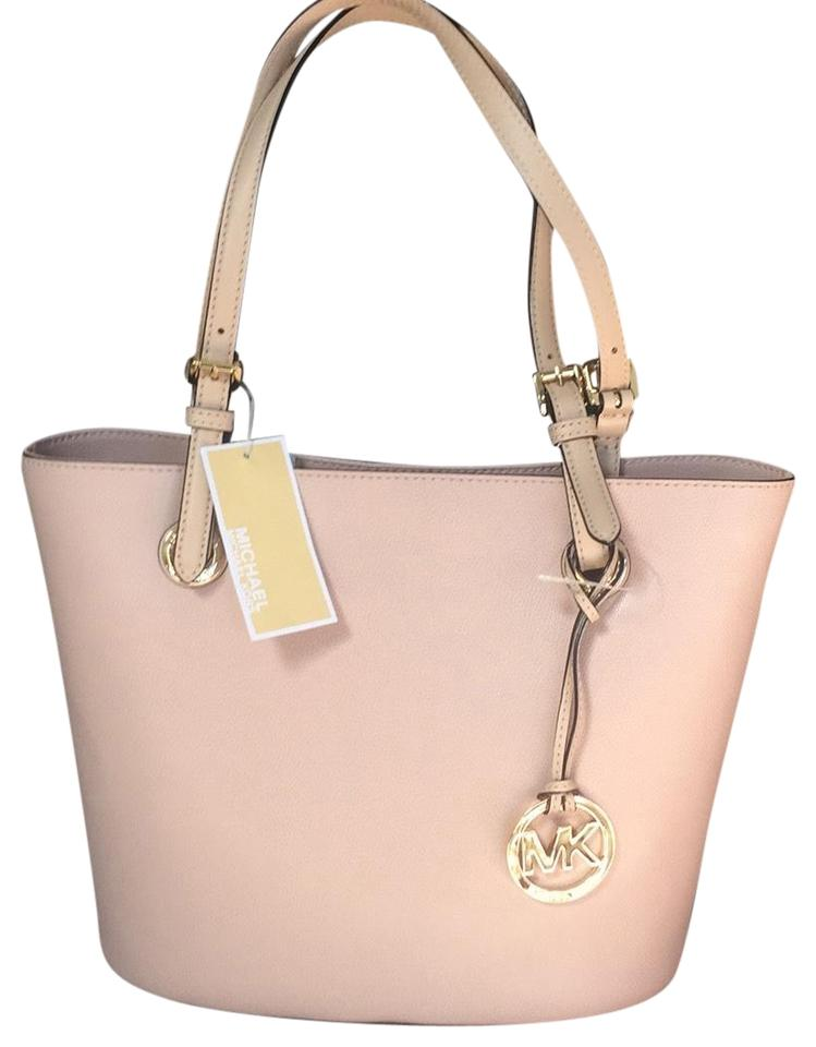3edadae9c529 Michael Kors Blush Leather Tote - Tradesy