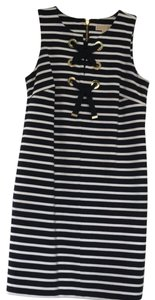 MICHAEL Michael Kors short dress navy and white on Tradesy