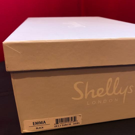 Shellys London Black leather Flats Image 11