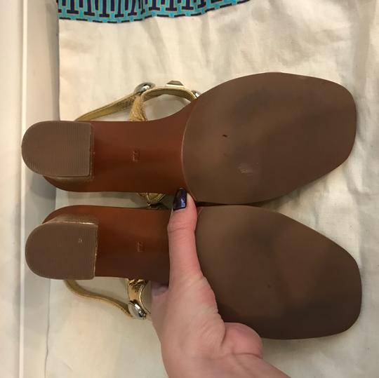 Tory Burch Gold & Silver Sandals Image 4