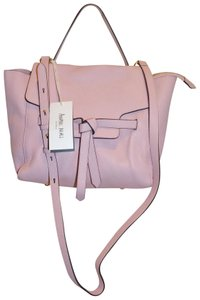Annabel Ingall Leather Australia Satchel in Pale Pink