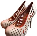BCBGeneration Nude/rose gold accents Platforms
