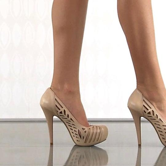 BCBGeneration Nude/rose gold accents Platforms Image 7