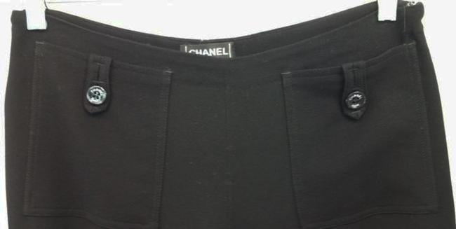 Chanel Straight Pants Black Image 1
