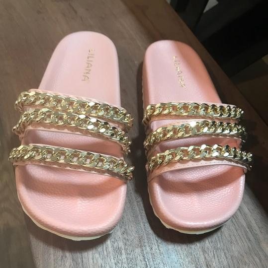 Liliana Dusty Pink Sandals Image 2