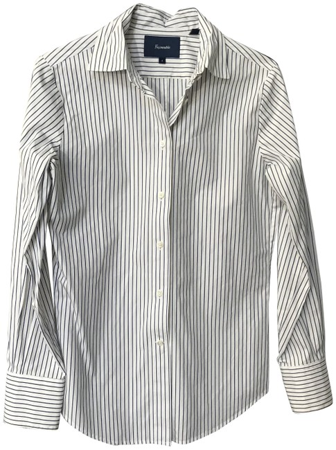 Preload https://img-static.tradesy.com/item/23059838/faconnable-white-tailored-flip-cuff-long-sleeve-shirt-button-down-top-size-4-s-0-1-650-650.jpg