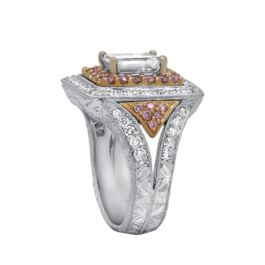 Stunning and Spectacular Diamond with 2.75 Tcw Engagement Ring Image 1