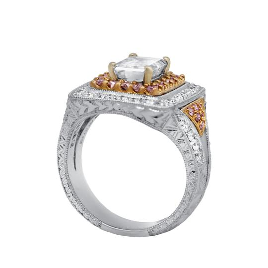 Stunning and Spectacular Diamond with 2.75 Tcw Engagement Ring Image 2