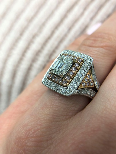 Stunning and Spectacular Diamond with 2.75 Tcw Engagement Ring Image 3