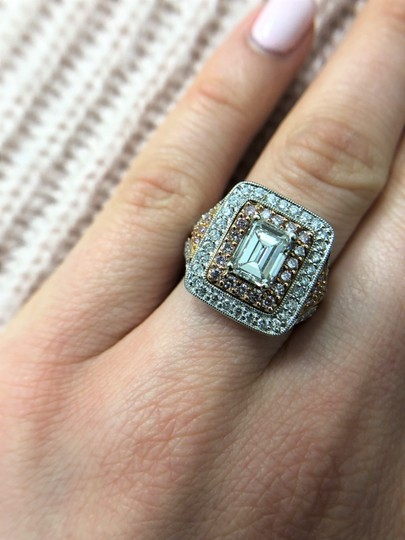 Stunning and Spectacular Diamond with 2.75 Tcw Engagement Ring Image 4