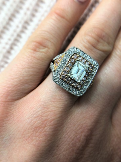 Stunning and Spectacular Diamond with 2.75 Tcw Engagement Ring Image 5