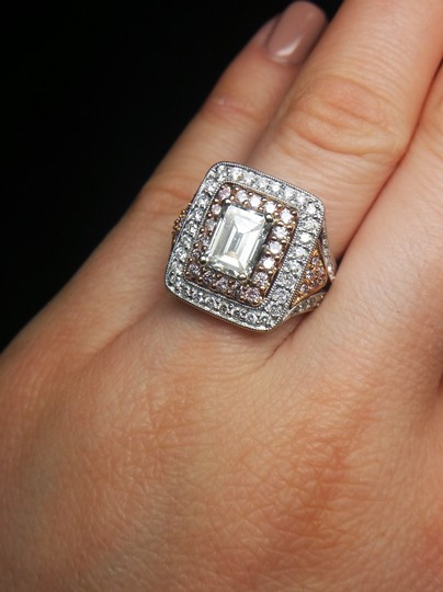 Stunning and Spectacular Diamond with 2.75 Tcw Engagement Ring Image 6