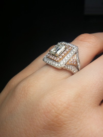 Stunning and Spectacular Diamond with 2.75 Tcw Engagement Ring Image 7